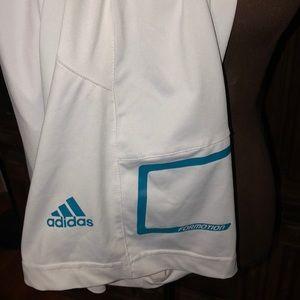 Adidas running shorts 100% nylon